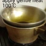 apply gentle heat